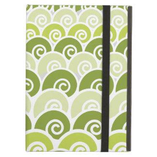 Beach Waves Green iPad Air Covers