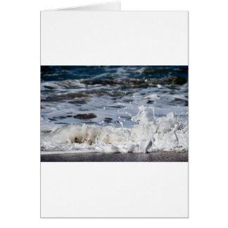 BEACH WAVES QUEENSLAND AUSTRALIA CARD