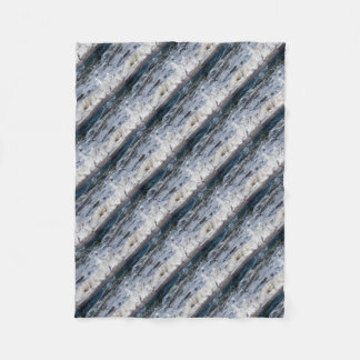 BEACH WAVES QUEENSLAND AUSTRALIA FLEECE BLANKET