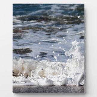BEACH WAVES QUEENSLAND AUSTRALIA PLAQUE