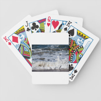 BEACH WAVES QUEENSLAND AUSTRALIA POKER DECK