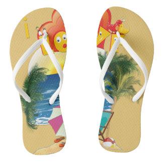 Beach wear flip flops