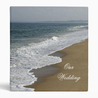 Beach Wedding 3 Ring Binders