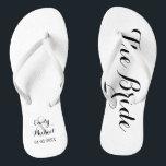 5a4efa58b30c Beach Wedding Bride Flip Flops br  div class