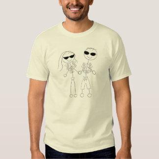Beach Wedding Couple T Shirts