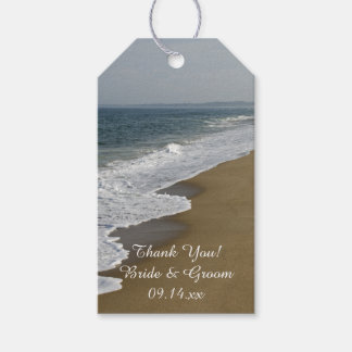 Beach Wedding Favor Tag