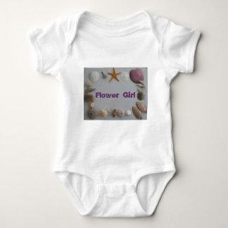 Beach Wedding/Flower Girl Baby Bodysuit