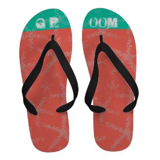 Beach Wedding Groom's Sandals