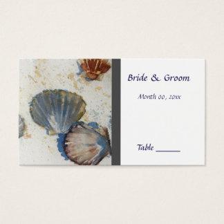 Beach Wedding Table Place Card