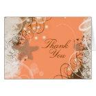 Beach wedding theme ~ thank you card