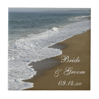 Beach Wedding Tile