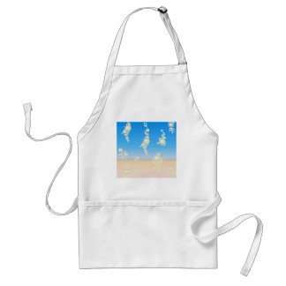 Beach with bubbles standard apron