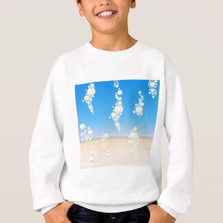 Beach with bubbles sweatshirt
