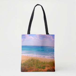 Beach with Dunes Tote Bag
