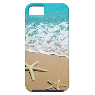 Beach With Starfish on Sand iPhone 5 Covers