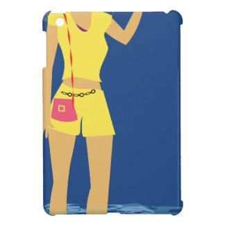 Beach Woman Vintage iPad Mini Covers