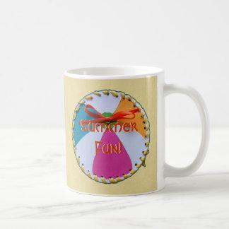 beachball2 classic white coffee mug