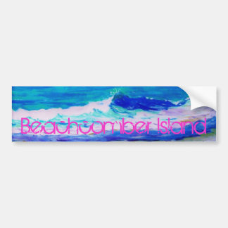 Beachcomber Island Bumper Sticker