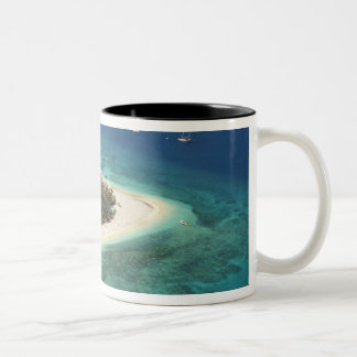 Beachcomber Island Resort, Fiji Two-Tone Coffee Mug