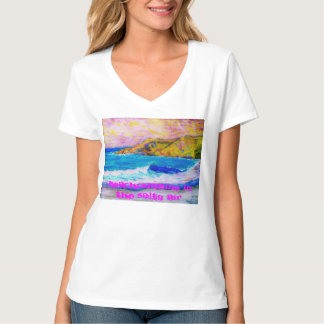 beachcombing in the salty air T-Shirt