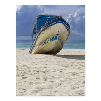 Beached Boat Postcard