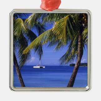 Beaches at Negril, Jamaica Metal Ornament