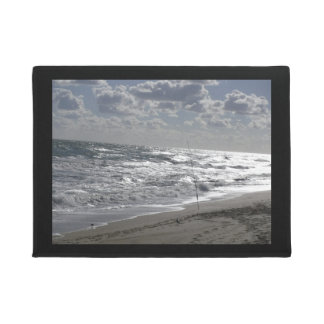 Beaches Fishing and Dreams Doormat
