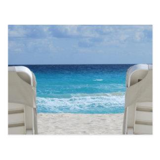 Beaches of Cancun Postcard
