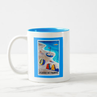 Beaches of France Mug