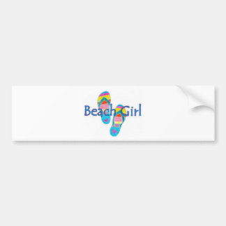 beachgirl bumper sticker