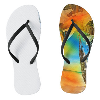 Beach'in Collection:  Hot Flip Flops