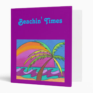 Beachin' Times - a scrapbook Vinyl Binders