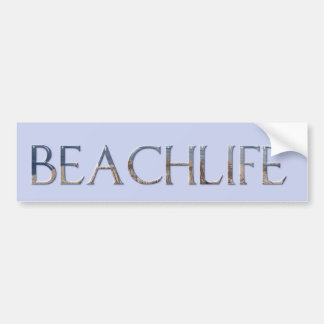 BEACHLIFE BUMPER STICKER