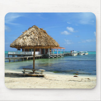 Beachside in San Pedro Mouse Pad