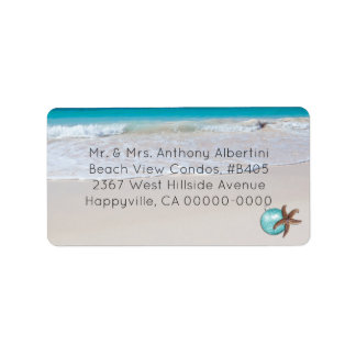 Beachside Living Medium Size Christmas Optional Label