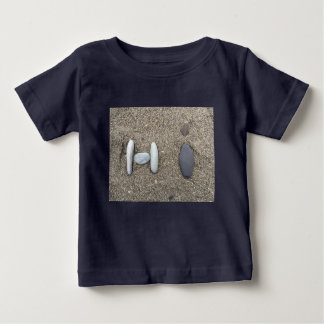 Beachy Art Sand Rock Hi Baby T-Shirt