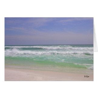 Beachy Destin, Florida , S Cyr Card