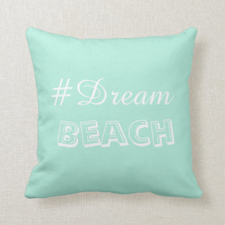 Beachy, fun colored pillow perfect in any room.