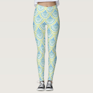 Beachy Mermaid Leggings