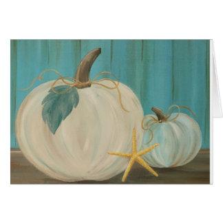 Beachy Pumpkin Delight Card