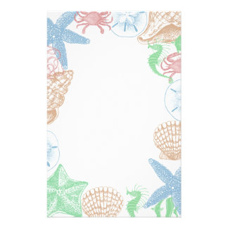 Beachy Stationery