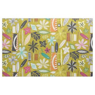 beachy yellow fabric