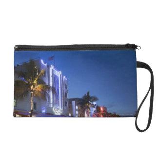 Beacon Hotel, Ocean Drive, South Miami Beach, Flor Wristlet Purse