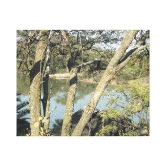 Beaconsfield Dam Canvas Print
