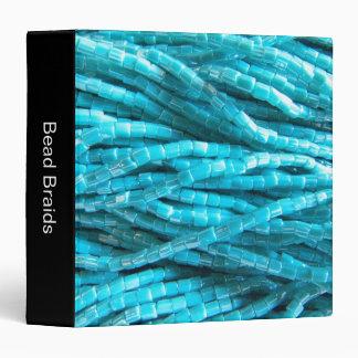 Bead Braids (1.5in) 3 Ring Binder