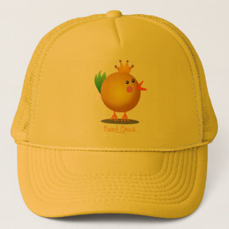 Bead Chick - Gold Trucker Hat