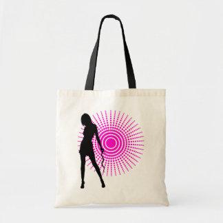 Bead diva (black) tote bag