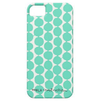 Bead iPhone 5 Barely There Universal in Turq iPhone 5 Cover