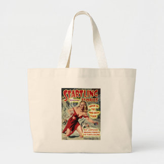 Bead Show Terror! Large Tote Bag