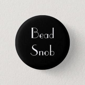 Bead Snob 1 Inch Round Button